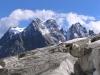 Le sommet du Pelvoux, vu du glacier blanc